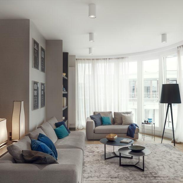 Nowoczesne wnętrze: zobacz piękny, elegancki apartament na warszawskim Powiślu