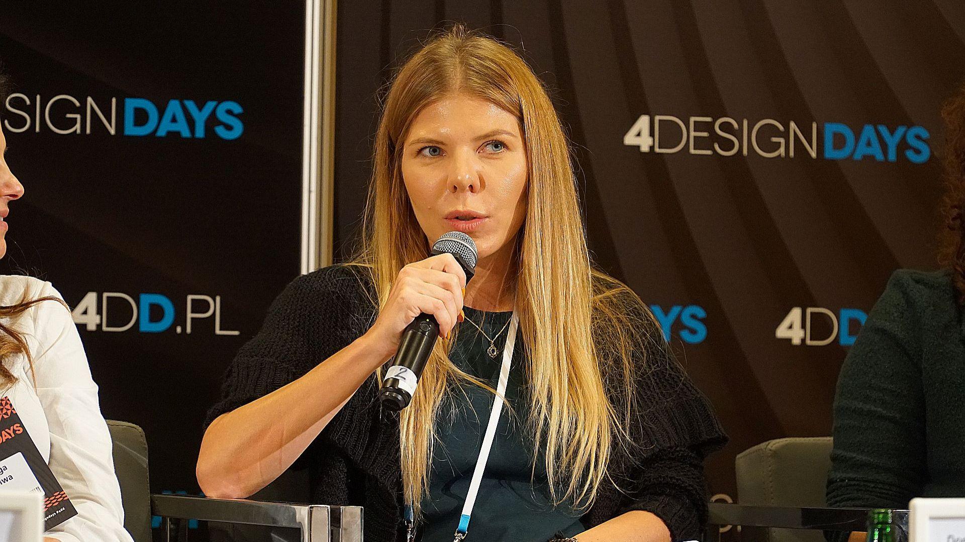 Architekt wnętrze Dominika Trzcińska. Fot. Justyna Łotowska