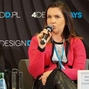 Projektantka wnętrz Monika Zawolik-Szczyrbowska. Fot. Justyna Łotowska