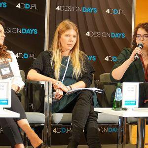 4 Design Days: dyskusja poświęcona przygotowaniu przestrzeni dla dziecka. Fot. Justyna Łotowska