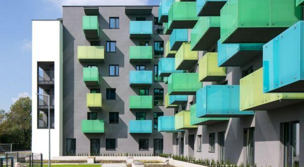 Kolorowe osiedle - ciekawa realizacja z Krakowa