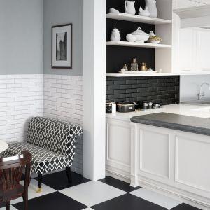 Ściana nad blatem w kuchni: aranżacje z wykorzystaniem płytek gresowych i klinkierowych. Fot. Cerrad