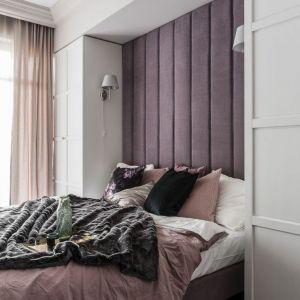 Zagłówek w sypialni. Projekt: JT Grupa. Zdjęcia: Foto&Mohito
