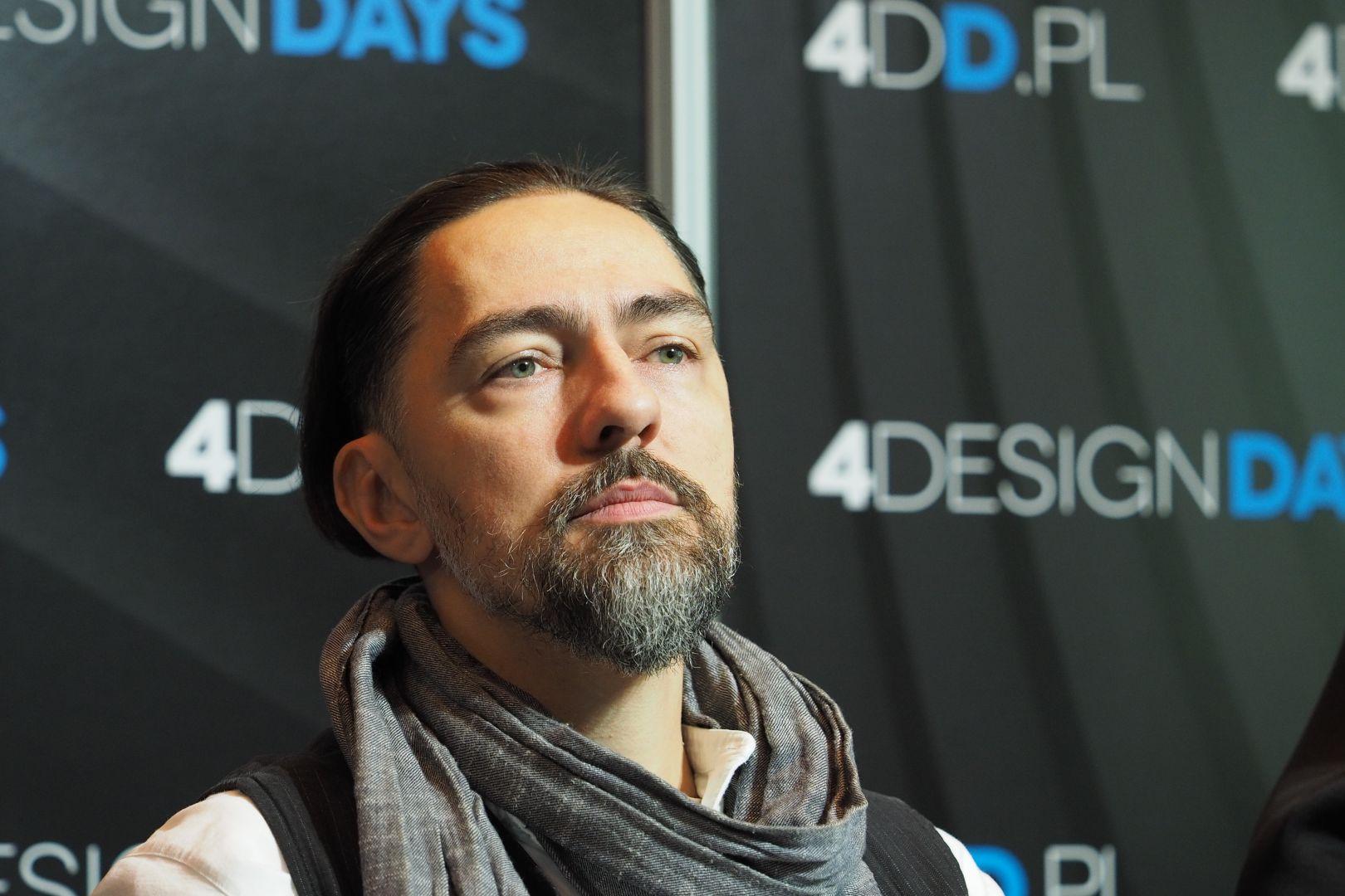 Grzegorz Goworek, projektant i współwłaściciel pracowni STUDIO.O. organic design