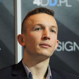 Tomasz Cedro, manager w firmie MERA