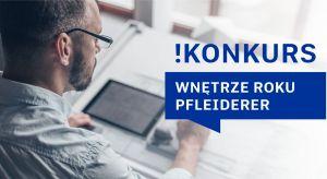 """""""Wnętrze Roku Pfleiderer"""" to konkurs dedykowany architektom, inwestorom oraz wykonawcom. Jego celemjest wyłonienie najciekawszych realizacji obiektowych z lat 2018/ 2019 w branży wykończenia wnętrz oraz meblarskiej, w których zastosowano produ"""