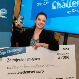 Druga nagroda o wartości 700 EURO została przyznana architektom Patrycji Pokrzywy i Pauliny Olszowy z pracowni MK architekci. Fot. Roca Polska, Krzysztof Matuszyński