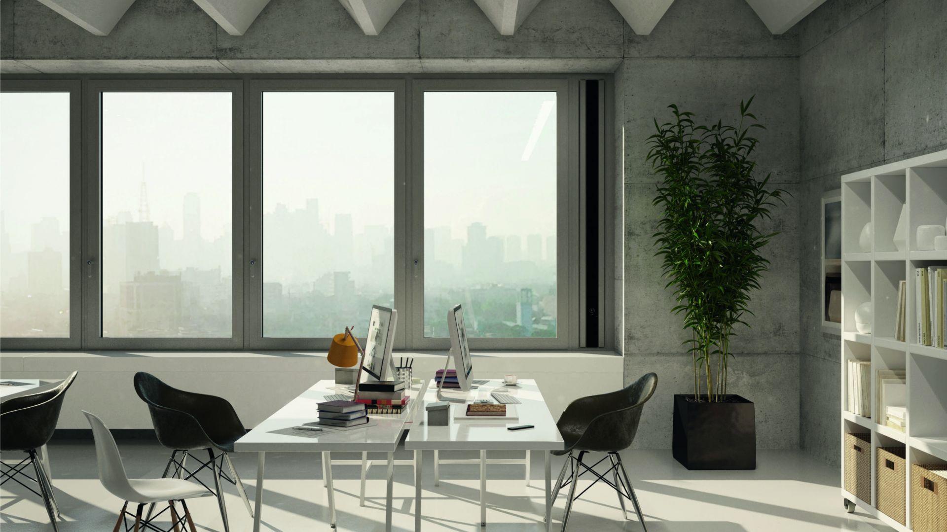 Rozwiązania w walce ze smogiem - okna antysmogowe. Fot. Schüco