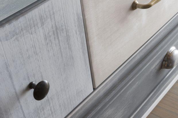 Wnętrza rustykalne - odnawiamy meble farbą kredową