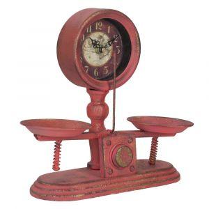 Dekoracje i dodatki w stylu industrialnym: zegar stołowy Mauro Ferretti Bilancia, cena: 239 zł. Fot. Bonami.pl