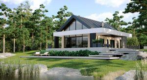 HomeKONCEPT 66 to komfortowy dom rekreacyjny o powierzchni użytkowej 106,62 m2, zaprojektowany w nowoczesnej stylistyce. Projekt powstał z myślą o weekendowym wypoczynku oraz letnich wakacjach. Można go przystosować do całorocznego użytkowania.
