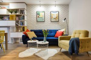 Podstawą kompozycji tego mieszkania jest indywidualizm, nowoczesność i artystyczne wariacje. Projekt: KODO. Fot. Piotr Czaja