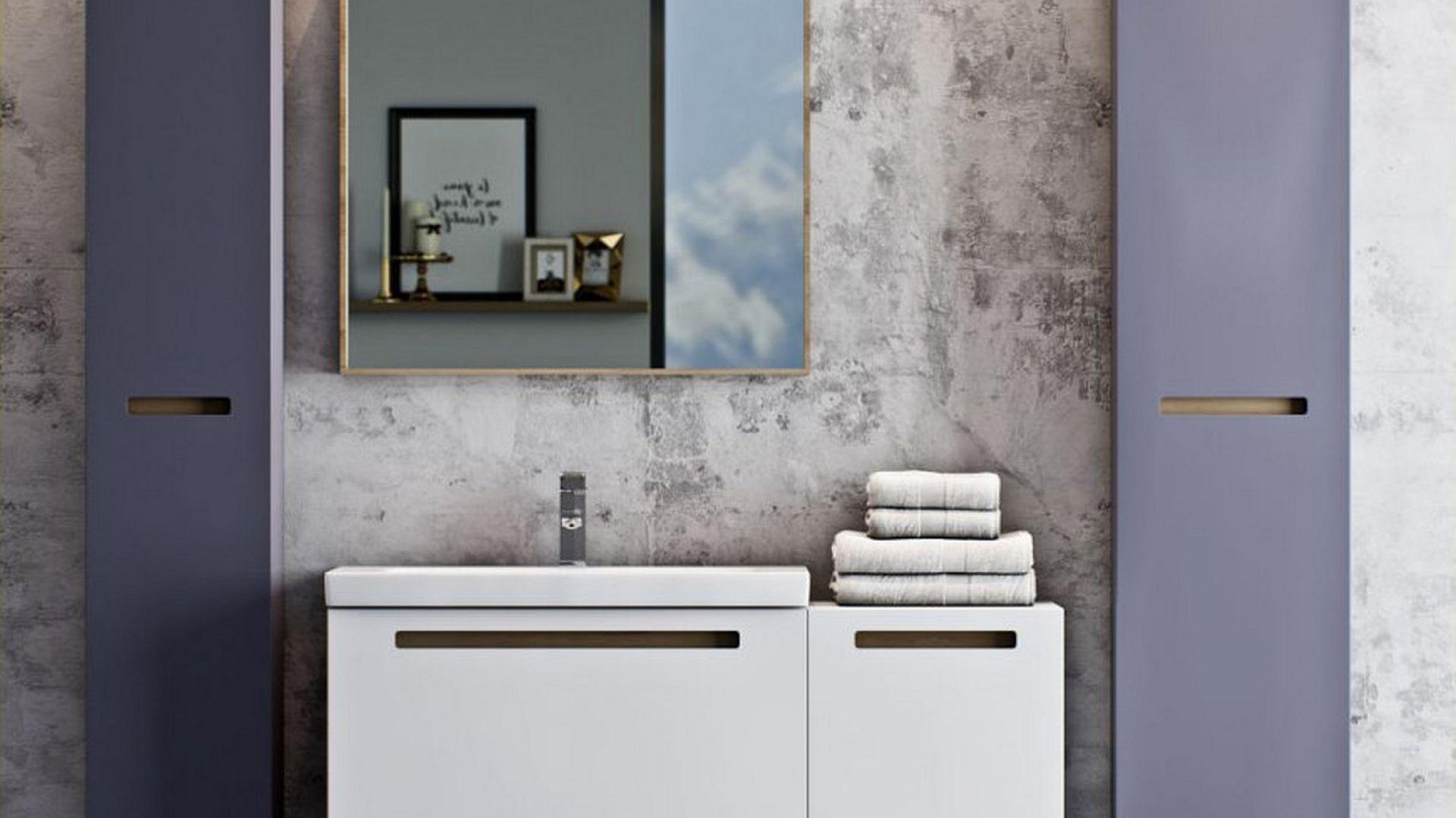 Meble do łazienki z kolekcji Senso marki Defra. Fot. Defra
