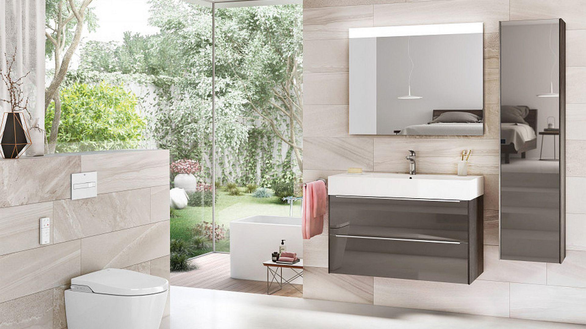Meble do łazienki z kolekcji Inspira marki Roca. Fot. Roca
