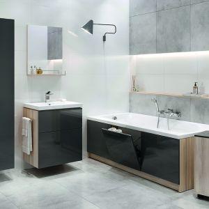 Meble do łazienki z kolekcji Smart firmy Cersanit. Fot. Cersanit