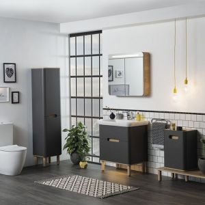Meble do łazienki z kolekcji Sento marki VitrA. Fot. VitrA