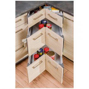 Rozwiązanie do narożnych szafek oferowane przez firmę Kam. Fot. Kam