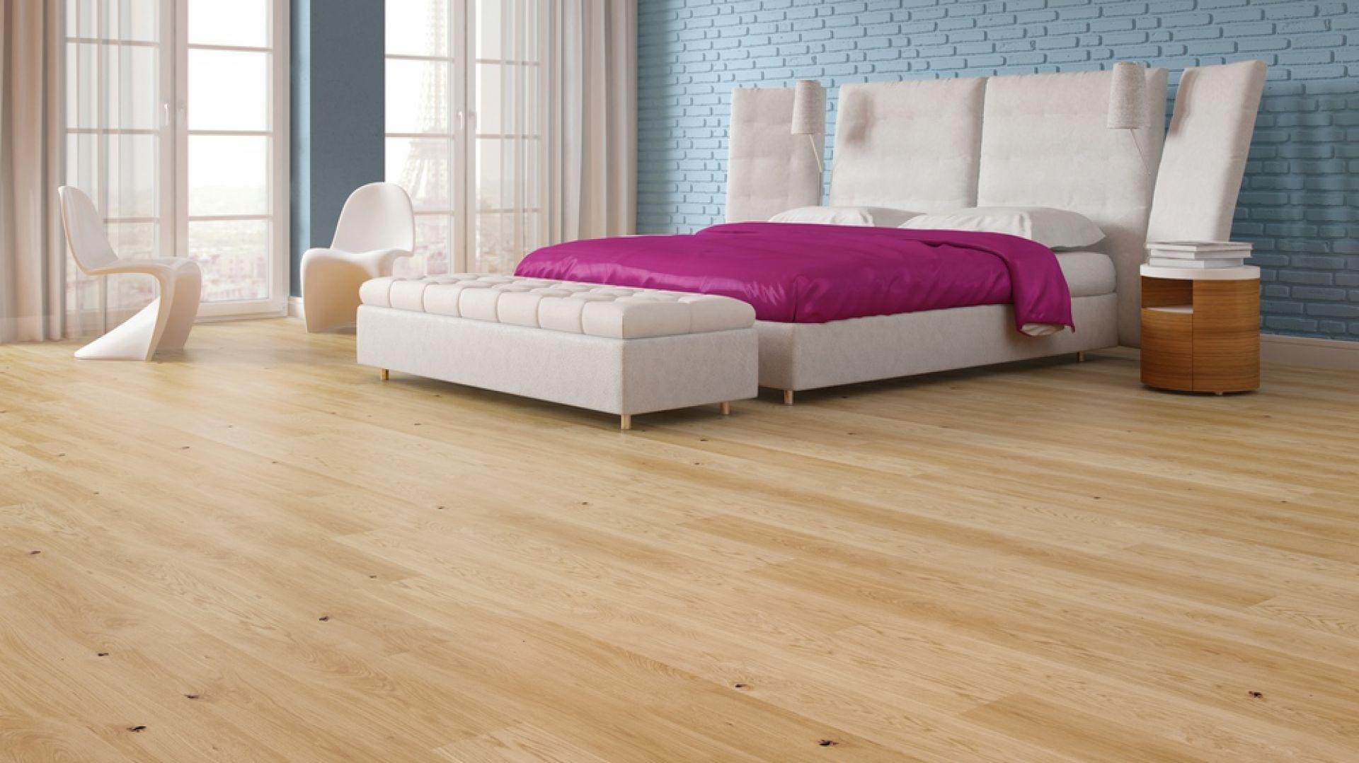 Podłoga z drewna - zobacz co będzie modne w 2019 roku: Dąb Unique Melody Collection. Fot. Baltic Wood
