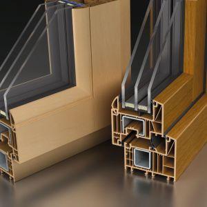 Okna z serii Wood Look, dzięki zastosowaniu folii najwyższej jakości do złudzenia przypominają naturalne drewno, zachowując jednocześnie wszystkie walory stolarki PVC.  Fot. MS więcej niż OKNA