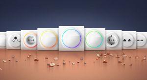 Design gniazd i włączników z serii Fibaro Walli stylizowany jest perłą, która została otoczona pierścieniem LED. Jego kolory mogą być dostosowane do upodobań mieszkańców, a także przypisane do konkretnych sytuacji.