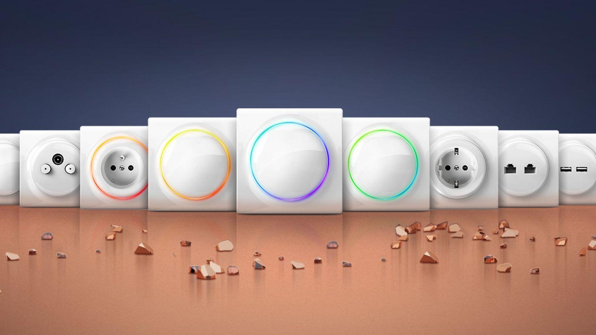 Fibaro Walli to pierwsza kompletna linia inteligentnych i klasycznych gniazd i włączników, która może być zamontowana w każdej chwili. Fot. Fibaro