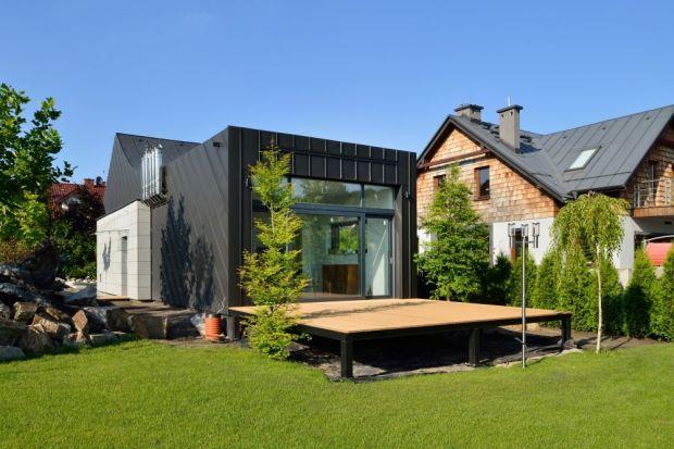 Bardzo mały dom. Zobacz jak mieszka się na 40 m²
