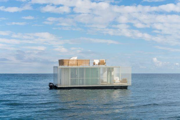Niezwykły pływający dom powstał w Hiszpanii