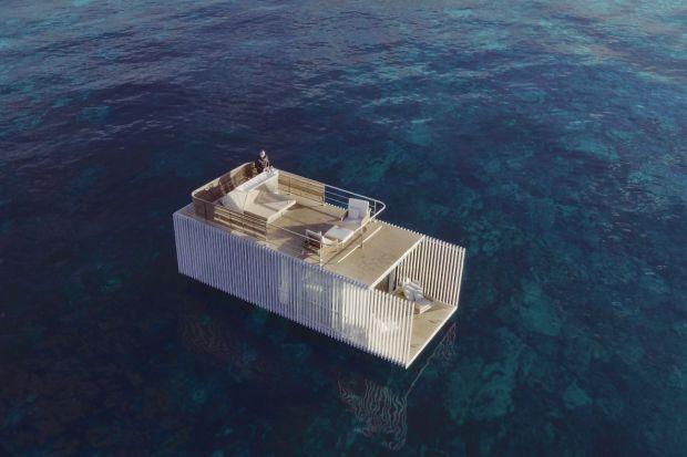 Pływający dom - zobacz projekt z Hiszpanii dla miłośników turystyki