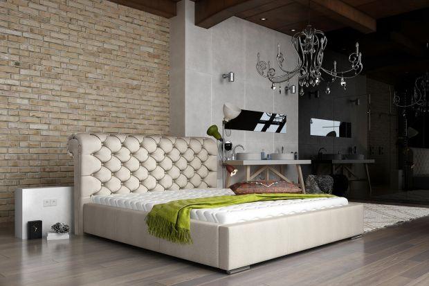 Nowość do sypialni - łóżko w królewskim wydaniu