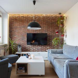 Małe, przytulne mieszkanie na warszawskiej Woli. Projekt: Renata Blaźniak-Kuczyńska. Fot. Katarzyna Nowakowska