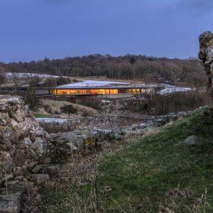 Hammershus Visitor Center, Bornholm, Dania