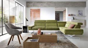 Tęskniąc za roślinnością na zewnątrz, zacznijmy od przywołania słonecznych dni we własnym domu. Wykorzystajmy pozytywny przekaz zieleni i zafundujmy sobie sofę lub fotel w tym kolorze.