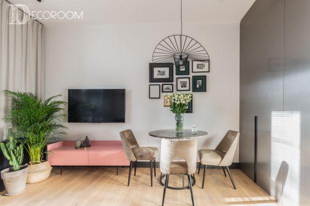 Małe mieszkanie - piękne wnętrze w eklektycznym stylu