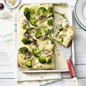 Focaccia Broccoli. Fot. Thermomix