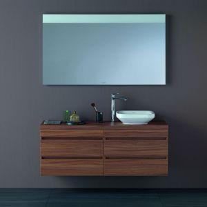 Meble łazienkowe - kolekcja konsoli podumywalkowych. Fot. Duravit