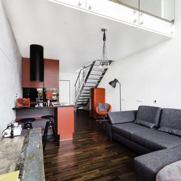 Mieszkanie w stylu loft - wnętrze na warszawskim Mokotowie