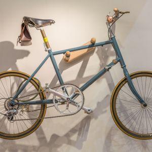 Przechowywanie roweru w małym mieszkaniu. Fot. iStock.com/WichitS