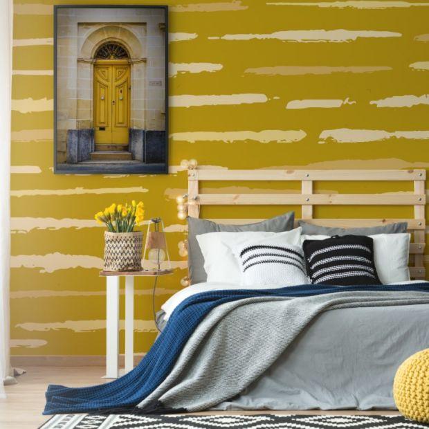 Pomysły na ściany - wiosenna terapia kolorem