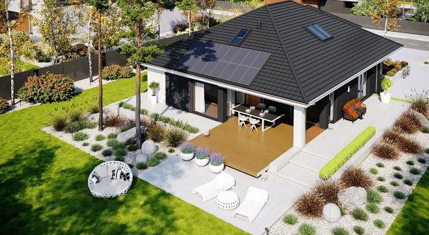 Mały dom. Zobacz jak zaprojektowano 130 metrów