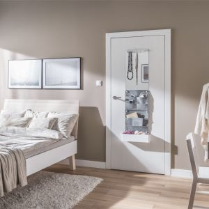Modna sypialnia - zobacz jak urządzić klimatyczne wnętrze. Na zdjęciu drzwi Smart. Fot. Porta