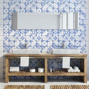 Modne płytki do łazienki. Producent: Life Ceramica, kolekcja: Mayolica. Life