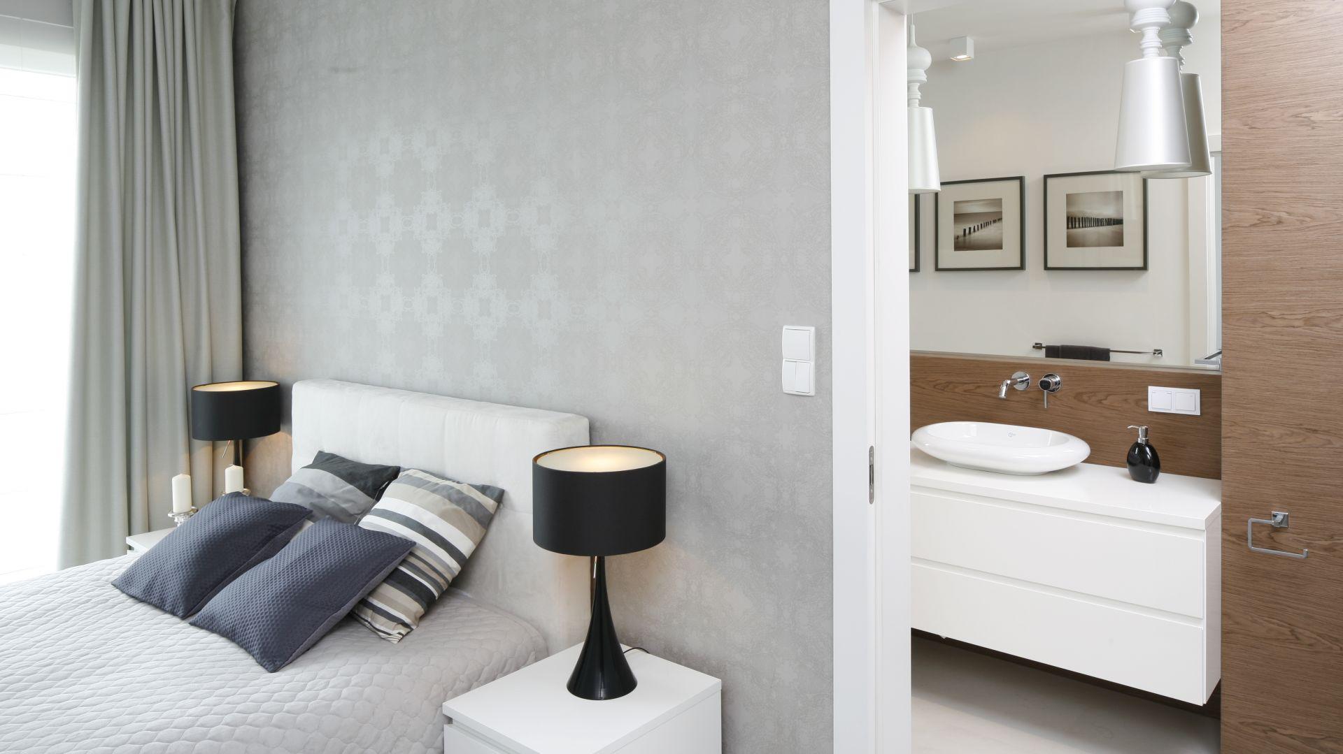 Piękna Sypialnia W Stylu Nowojorskim