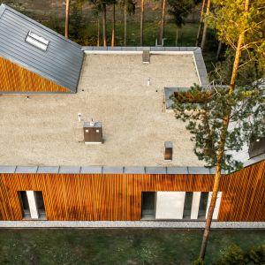 Dom jednorodzinny w Kuźnicy Kiedrzyńskiej. Fot. Baumit