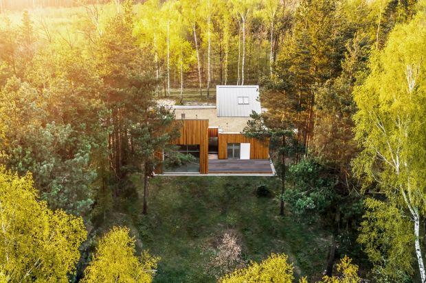 Nowoczesny dom - zobacz wyjątkową realizację inspirowaną naturą