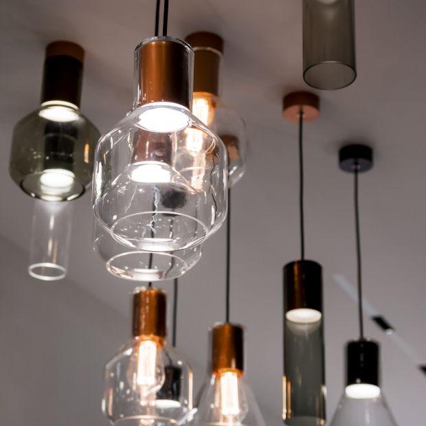 Nowoczesne oświetlenie - nowe kolekcje szklanych lamp