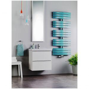 Każdy model grzejnika łazienkowego Apolima. Może być pomalowany dowolnym kolorem z palety RAL. Fot. Purmo