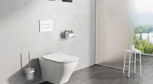 Łazienka połączona ztoaletą ma swoje praktyczne zalety, ale i wady, które nie muszą wpływać na jej estetykę i piękno. Całe pomieszczenie wyposażysz produktami zjednego konceptu, które połączy nie tylko spójne wzornictwo, ale i praktycz