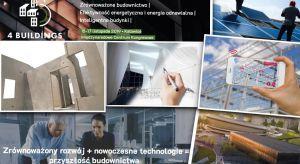 Budownictwo przyszłości, nowatorskie technologie budowlane, efektywność energetyczna i energia odnawialna oraz inteligentne budynki - o tym będziemy rozmawiać i rozwiązania z tych dziedzin będziemy promować w trakcie4Buildings w Katowicach, 15-