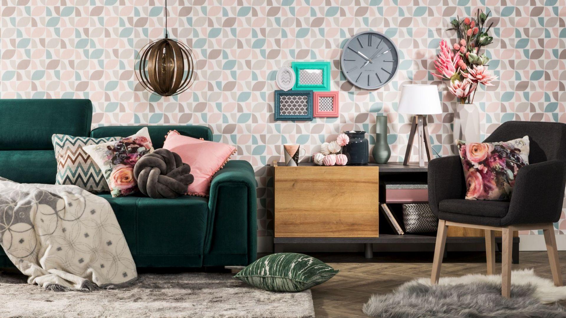 Aranżacja mieszkania - radzimy, jak łączyć wzory we wnętrzach. Fot. Agata S.A.