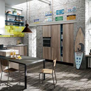 Półwysep w kuchni. Na zdjęciu: meble do kuchni dostępne w ofercie firmy Aran Cucine. Fot. Aran Cucine